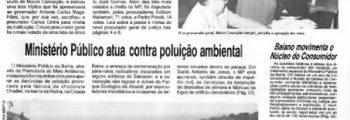1991 – Primeira eleição direta para o cargo de Procurador-Geral de Justiça